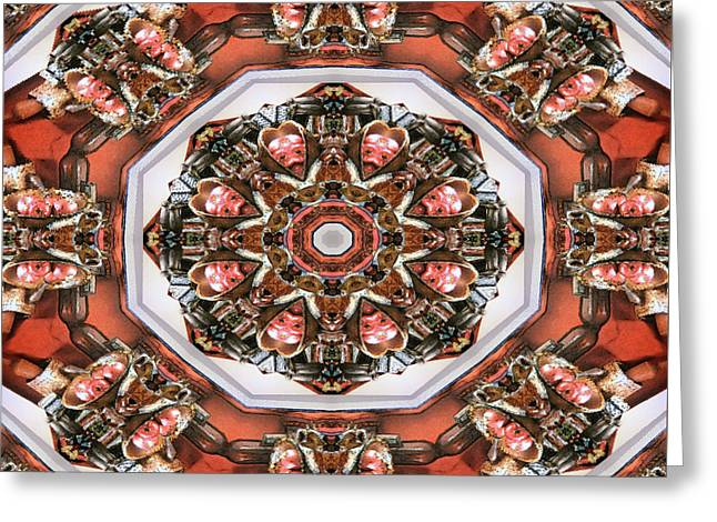 Kaleidoscope Of Apple Still Life Greeting Card