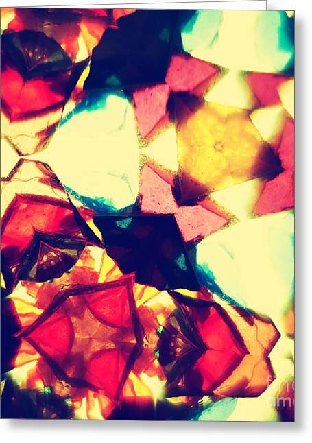 Kaleidoscope Pattern Greeting Card