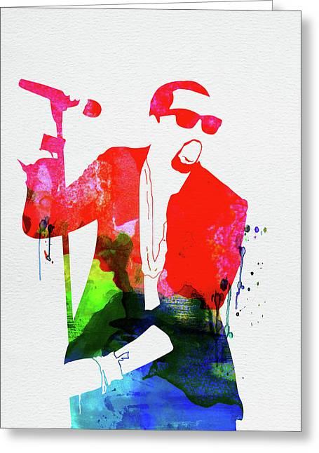 Kanye Watercolor Greeting Card