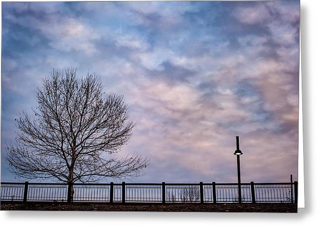 Kaw Point Silhouettes Greeting Card