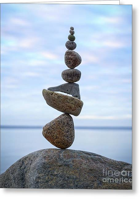 Keep The Balance Greeting Card