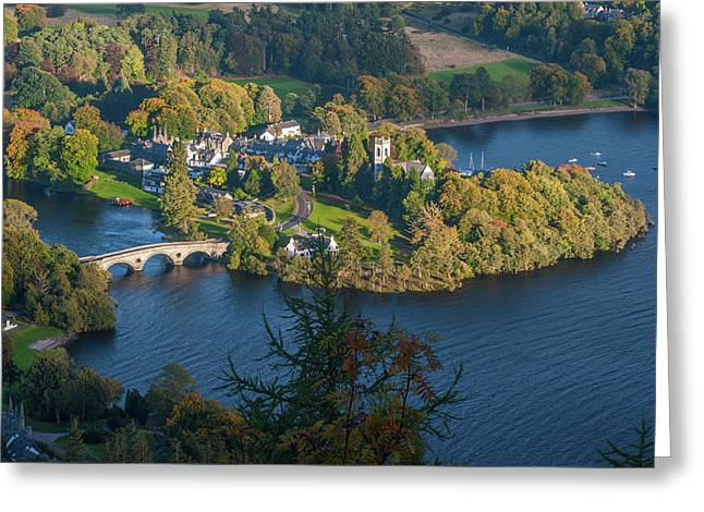 Kenmore And Loch Tay Greeting Card by David Ross