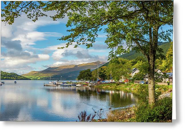 Kenmore And Loch Tay, Perthshire Greeting Card by David Ross