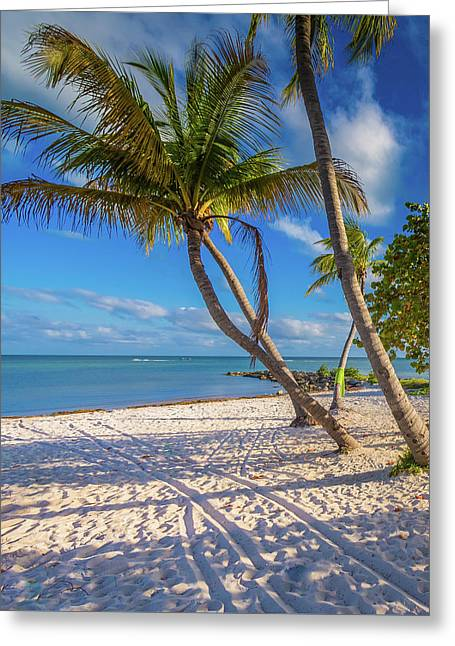 Greeting Card featuring the photograph Key West Florida by Robert Bellomy