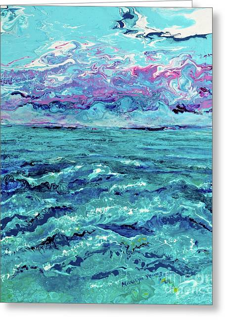 Keys Seascape Greeting Card