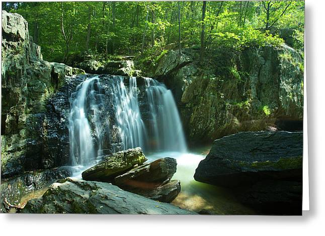Kilgore Falls In Summer Greeting Card