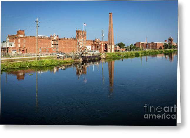 King Mill - Augusta Ga 1 Greeting Card