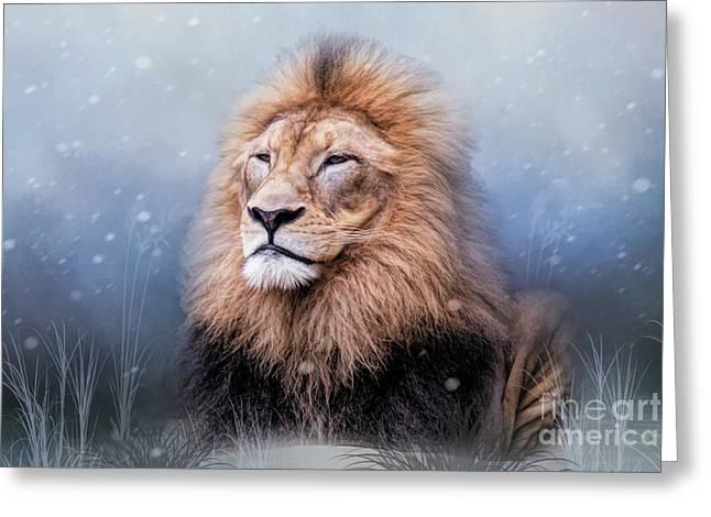 King Winter Greeting Card