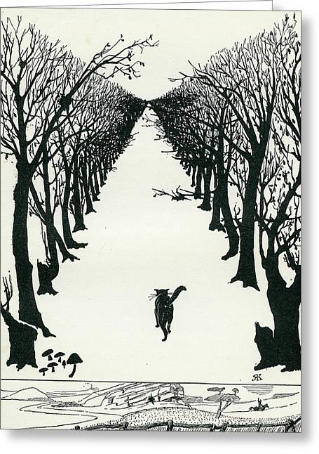 The Cat That Walked By Himself Greeting Card