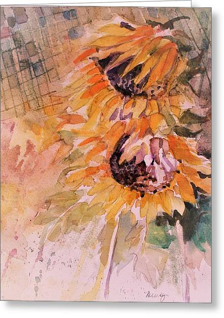 Kitchen Sunflowers Greeting Card