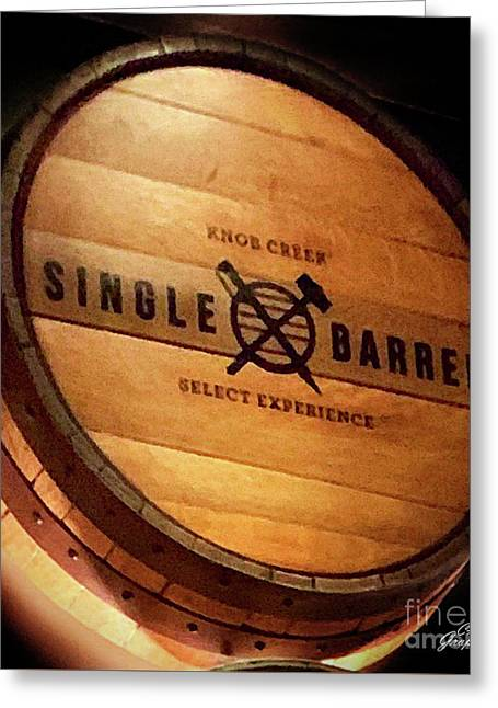 Knob Creek Barrel Greeting Card