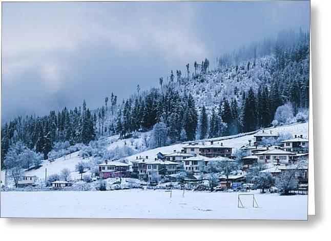 Koprivshtica Winter Panorama Greeting Card