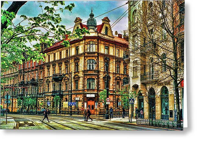 Krakow Poland Greeting Card