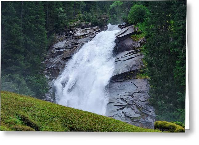 Krimml Waterfalls IIi Greeting Card