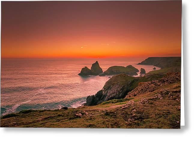 Kynance Cove Greeting Card