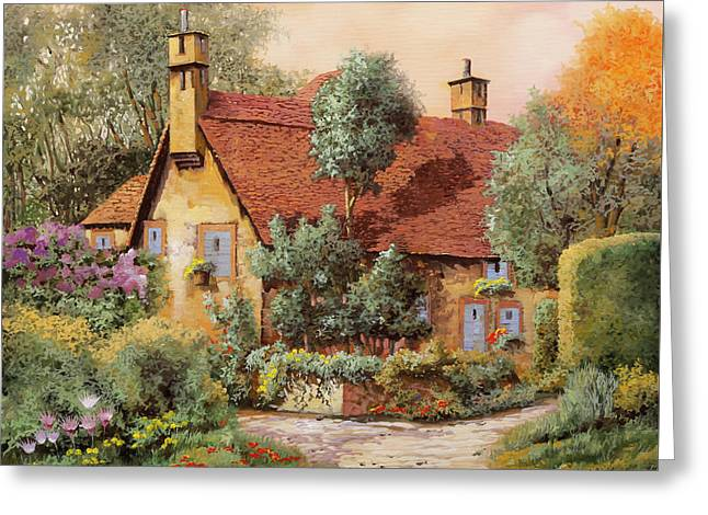 La Casa Inglese Greeting Card