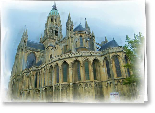 La Cathedrale De Bayeux Greeting Card