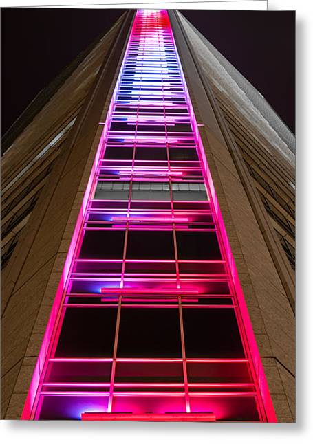 Ladder To Heaven  Greeting Card by Christine Buckley