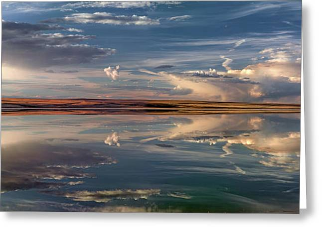 Lake Abert 4 Greeting Card by Leland D Howard