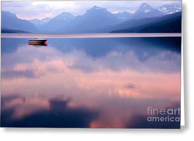 Lake Mcdonald Greeting Card