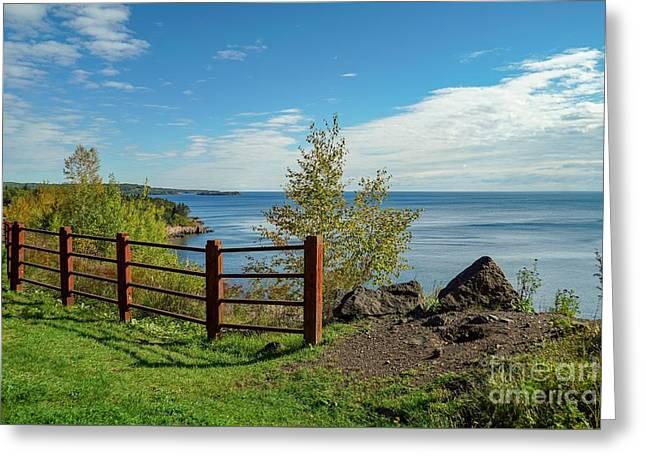 Lake Superior Overlook Greeting Card