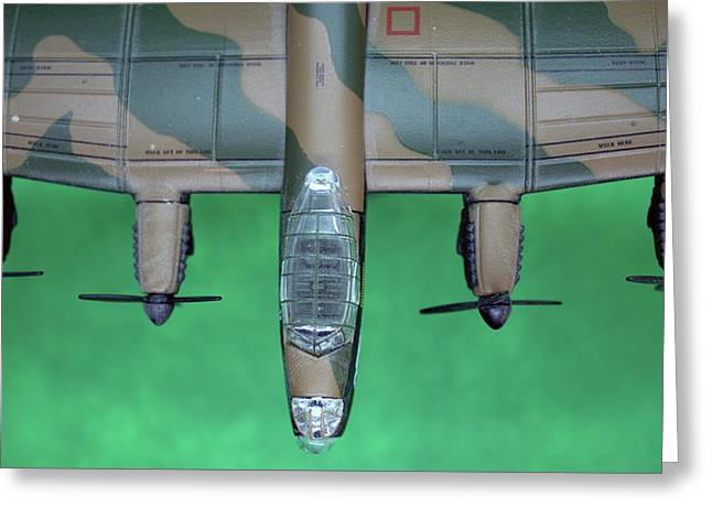 Lanc Model Greeting Card