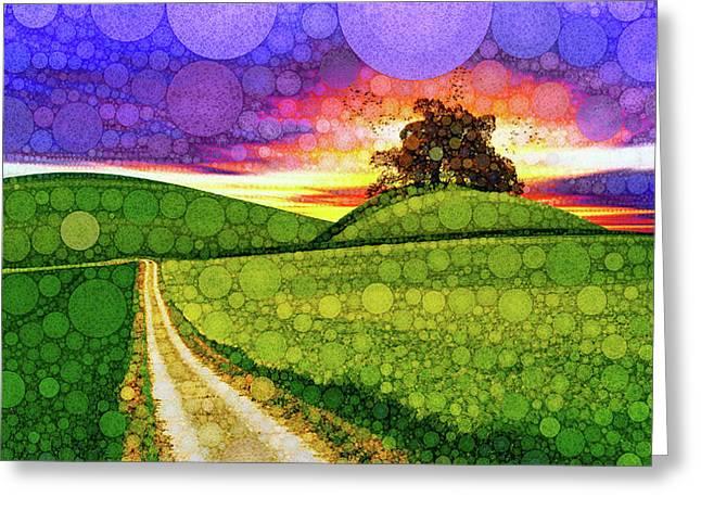 Land Of Dreams Greeting Card