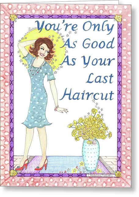 Last Haircut Greeting Card