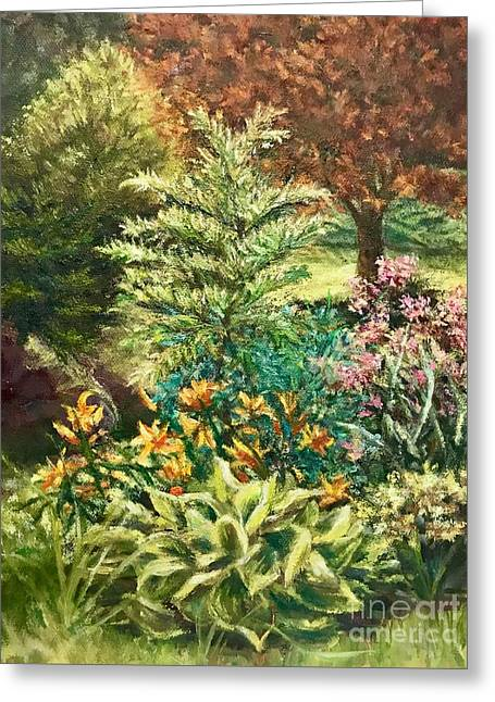 Late Summer Garden Greeting Card