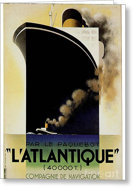 Latlantique 1931 Greeting Card