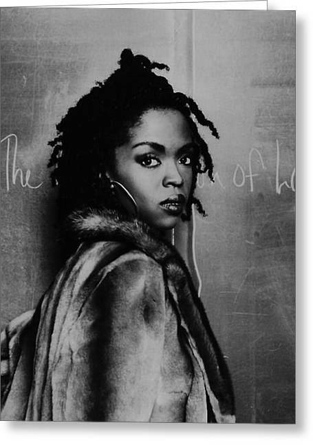 Lauryn Hill Greeting Card