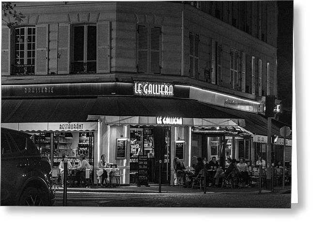 Greeting Card featuring the photograph Le Galliera by Randy Scherkenbach