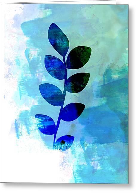 Leaf Watercolor Greeting Card