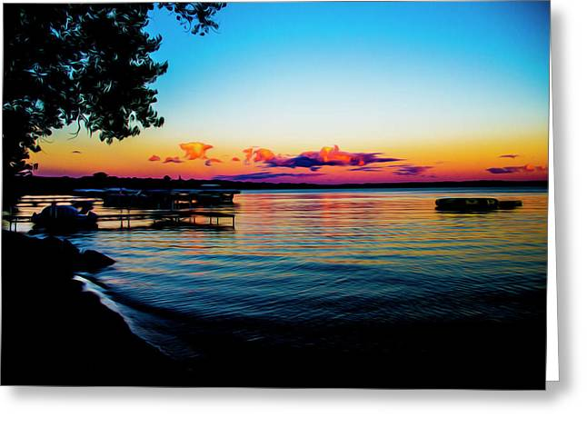 Leech Lake Greeting Card