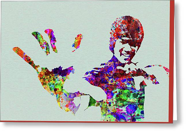 Bruce Lee Greeting Cards Fine Art America