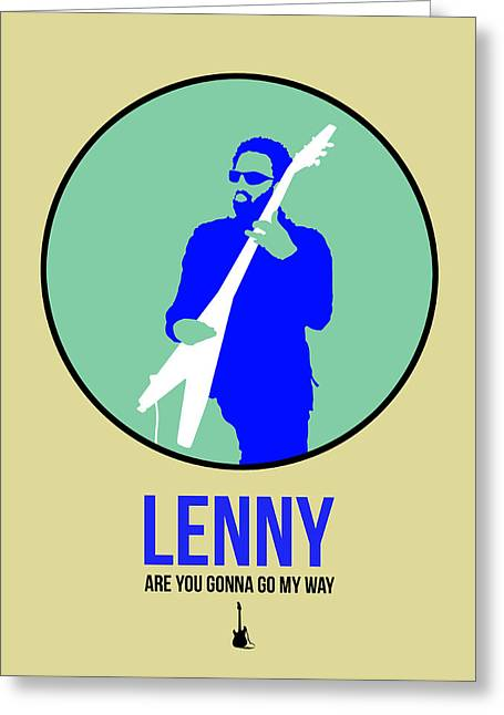Lenny Kravitz II Greeting Card