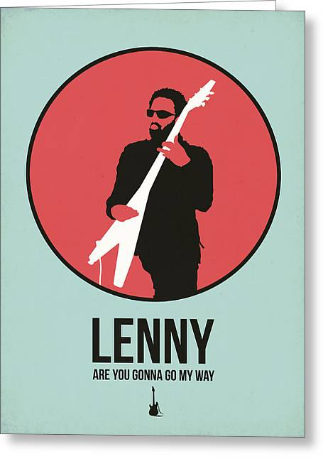 Lenny Kravitz Greeting Card