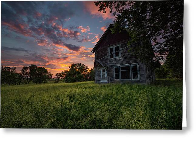 Greeting Card featuring the photograph Letters From Home by Aaron J Groen