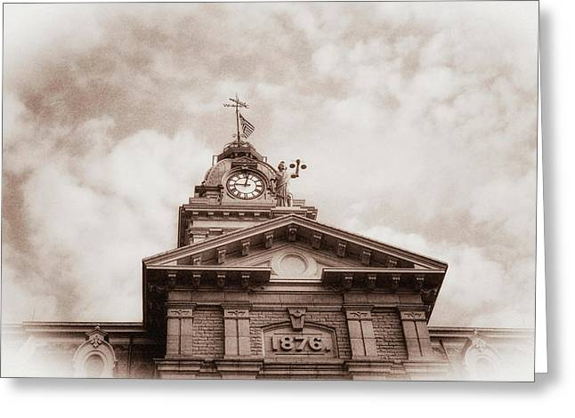 Licking County Courthouse Greeting Card