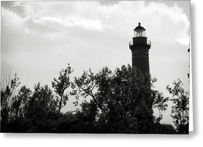 Greeting Card featuring the photograph Lighthouse by Michelle Wermuth