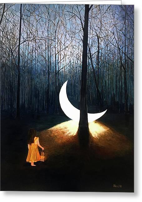 L'il Luna Greeting Card