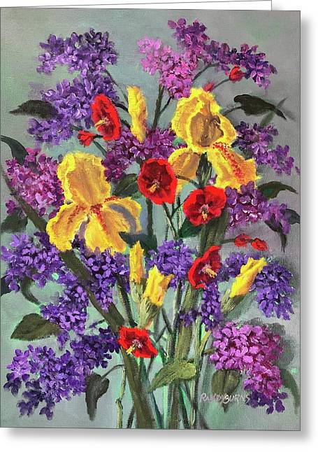 Lilac Days Greeting Card