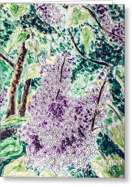 Lilac Dreams Greeting Card