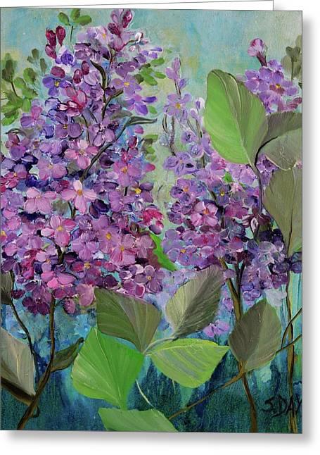 Lilac Love Greeting Card