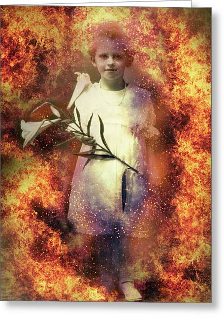 Lilies Of The Apocalypse Greeting Card