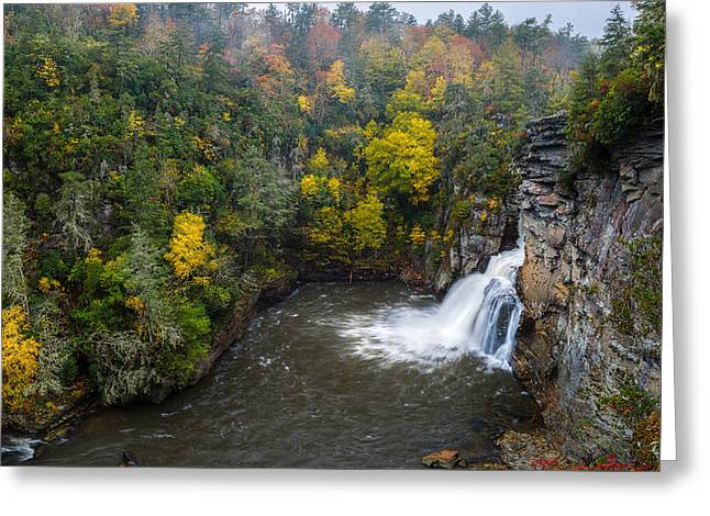 Linville Falls - Linville Gorge Greeting Card