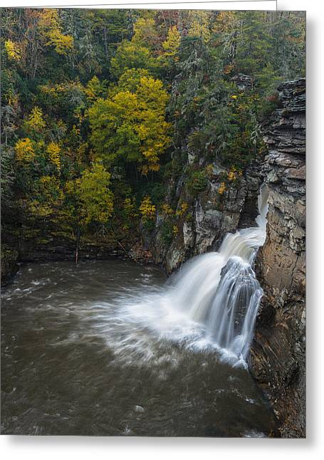 Linville Falls Greeting Card