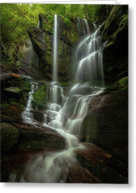 Linville Gorge - Waterfall Greeting Card