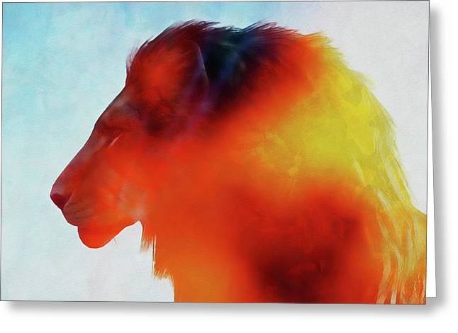 Lion King - 16 Greeting Card