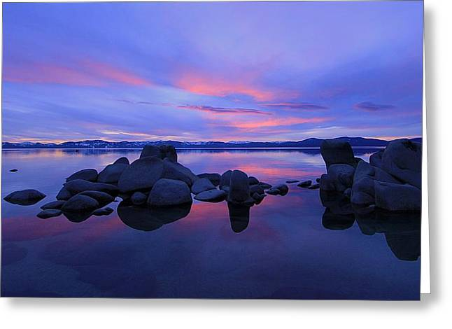 Greeting Card featuring the photograph Liquid Serenity  by Sean Sarsfield